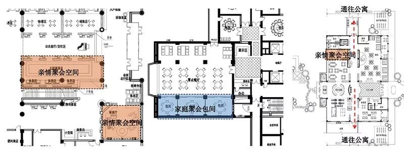 某老年公寓家庭,祖孙亲情聚会空间平面图片